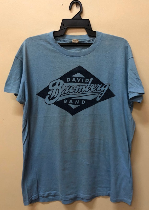 Vintage David Bromberg Band tshirt