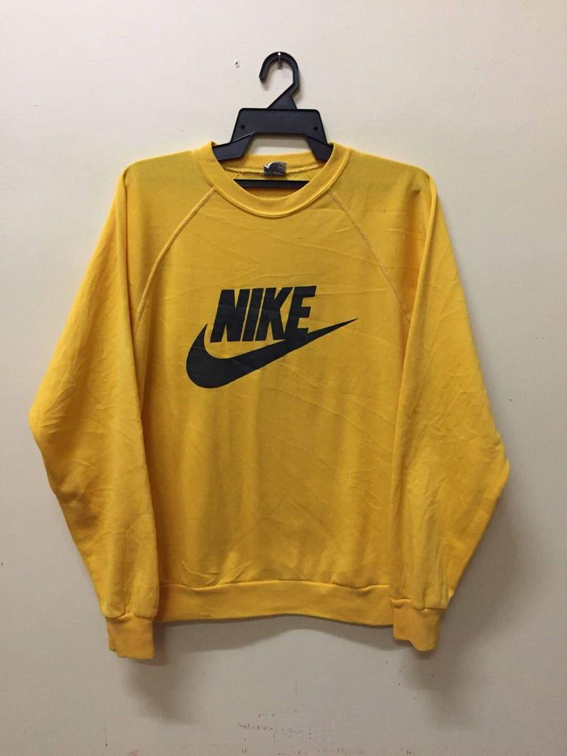 327b12345e Vintage Nike Swoosh Big Logo Sweatshirt Logo Polo Ralph Lauren | Etsy