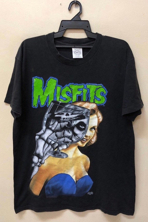 Vintage Misfits 1996 Bandtee Shirt 90s Soundgarden