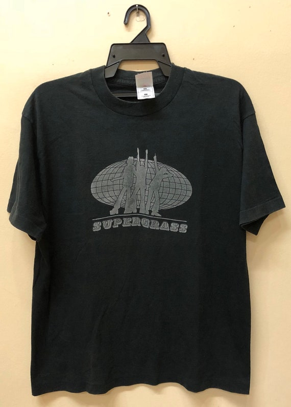 Vintage 90s Supergrass North American Tour 1997 ts