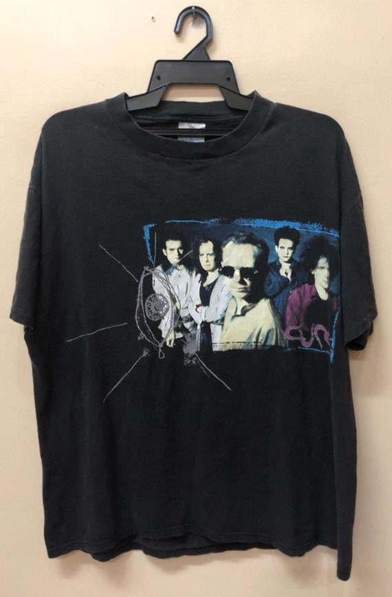 Vintage The Cure Wish Tour 92 Bandtee Shirt 90s B… - image 1