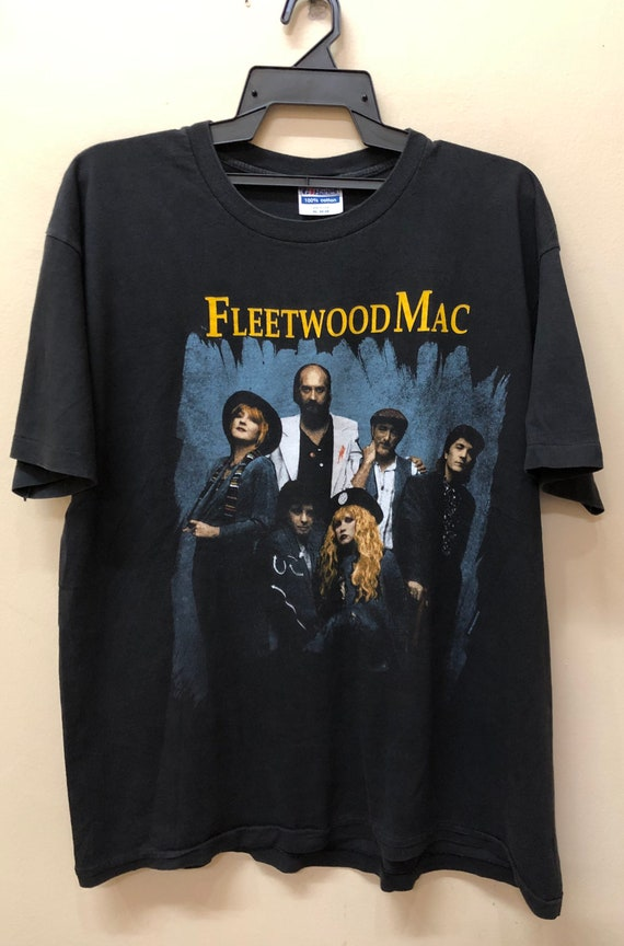 Vintage 90s Fleetwood Mac Tour 1990 t-shirt Stevie
