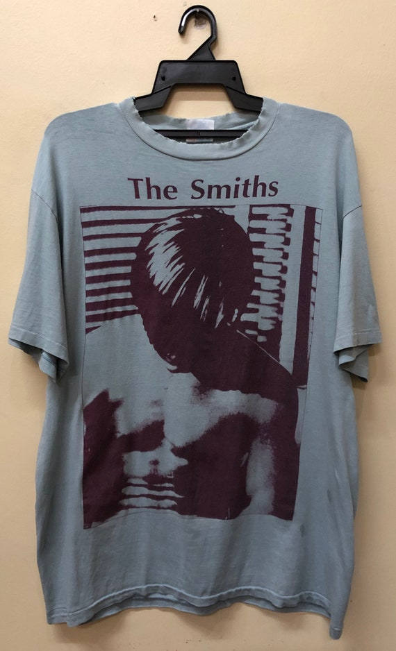 Ultra RARE The Smiths 90s t Shirt Bjork Ride Oasis