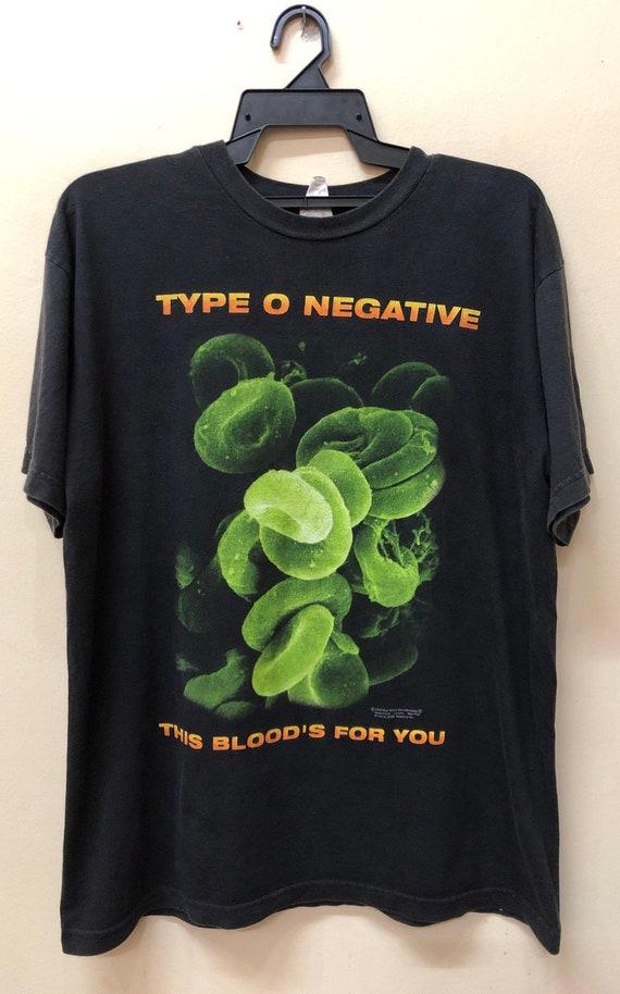 Vintage 90s Type O Negative T-Shirt Dinosaur JR So