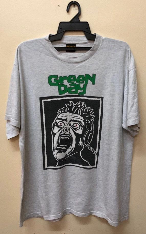 Vintage Green Day basket case tshirt Weezer Oasis