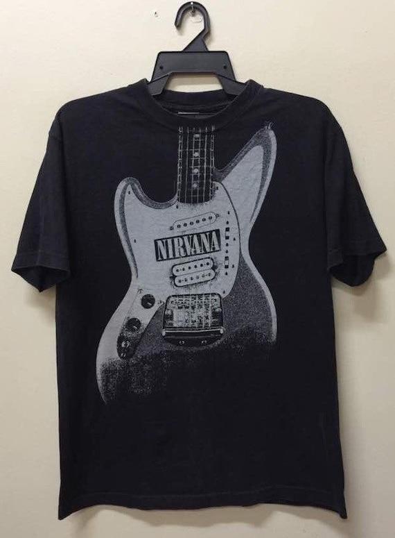 Vintage Nirvana Guitar t shirt Mudhoney dinosaur j