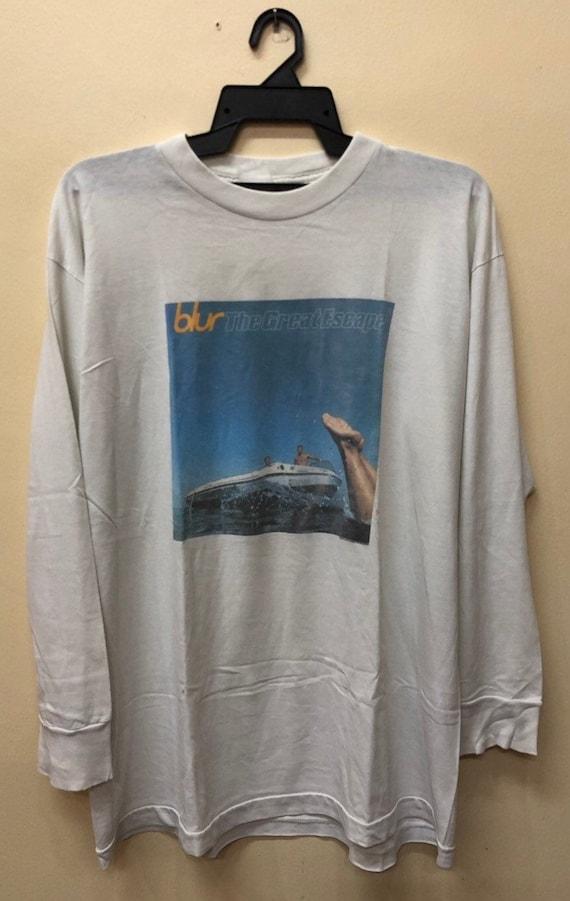 Vintage 90s Blur shirt Oasis slowdive manic street