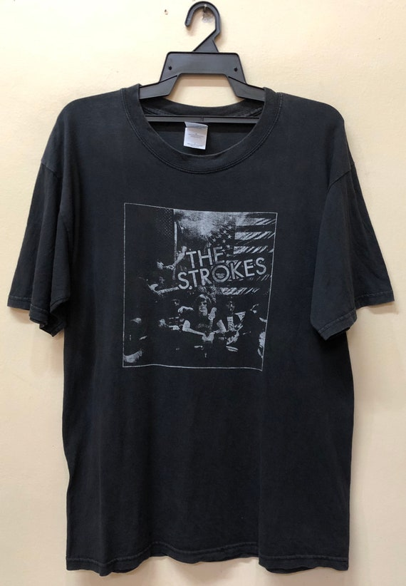 Vintage The Strokes Live in Canada T Shirt Bjork R