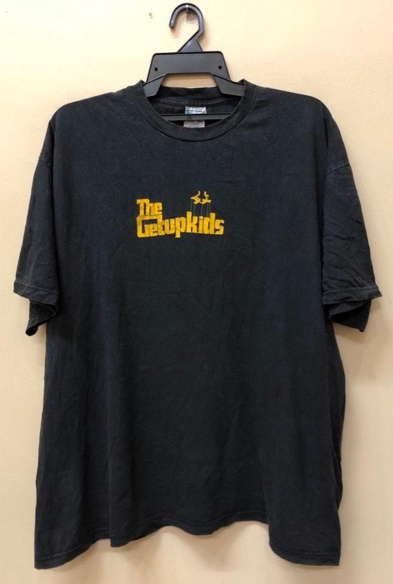 Vintage 90s The Getupkids Rock Bandtee tshirt