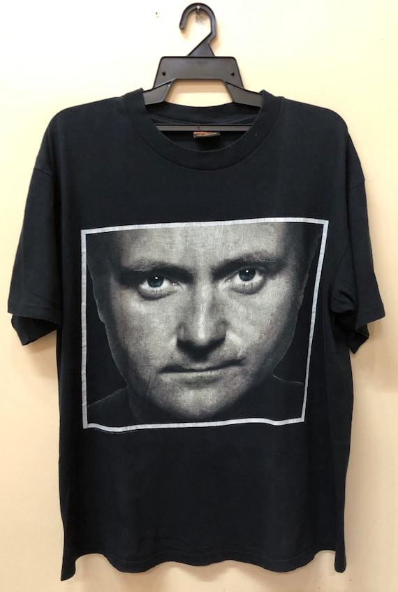 Vintage 90s Phil Collins Tour 1994 t shirt Dinosau