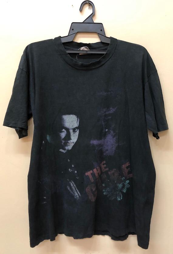 Vintage The Cure Prayer Tour 1989 tshirt Soundgard