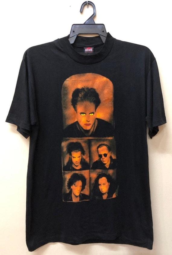 Vintage The Cure 1992 tshirt Soundgarden Mudhoney