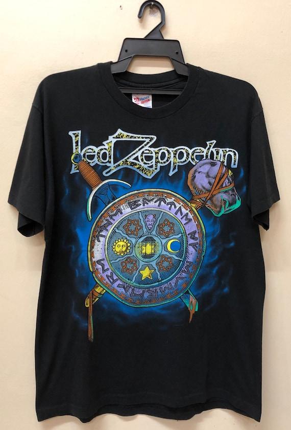 Vintage 90s Led Zeppelin 1994 T Shirt Dinosaur JR