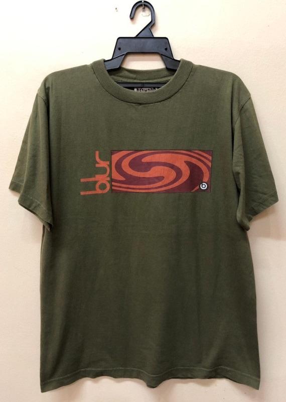 Vintage Blur tshirt Oasis Radiohead slowdive manic
