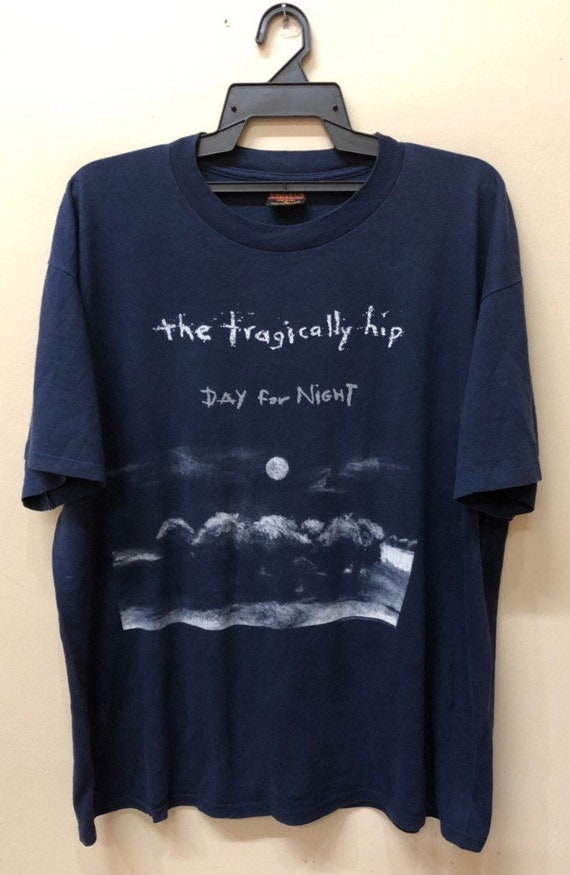 Vintage The Tragically Hip 1994 Bandtee shirt Dino