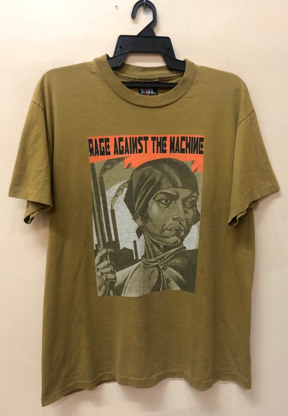 Vintage Rage Against The Machine Women RApper Tshi