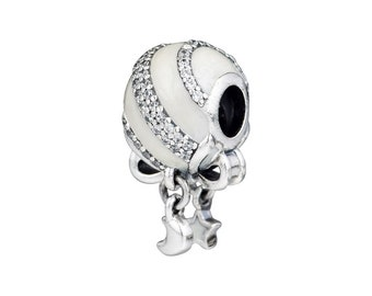 d29640eeb Exclusive Holiday Charm & Ornament, Christmas, 100% 925 Sterling Silver  With Enamel, CZ Fits to all Pandora Bracelets
