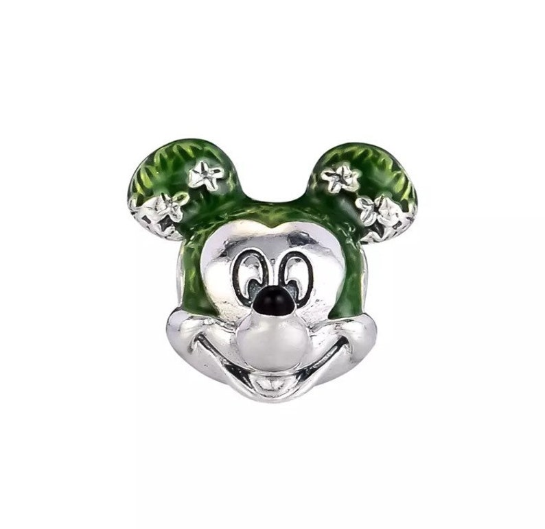 7eca4a233 Disney Mickey Mouse Topiary Charm Epcot International Flower | Etsy