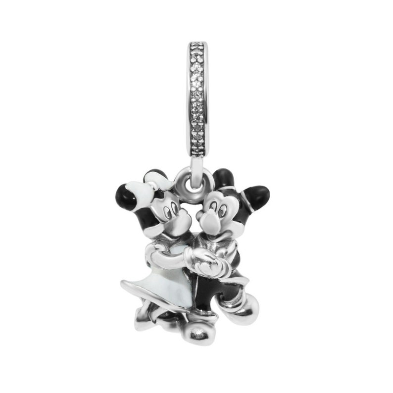 Parchi Disney Topolino e Minnie Mouse penzolare fascino 100%  3d1ad33d2670