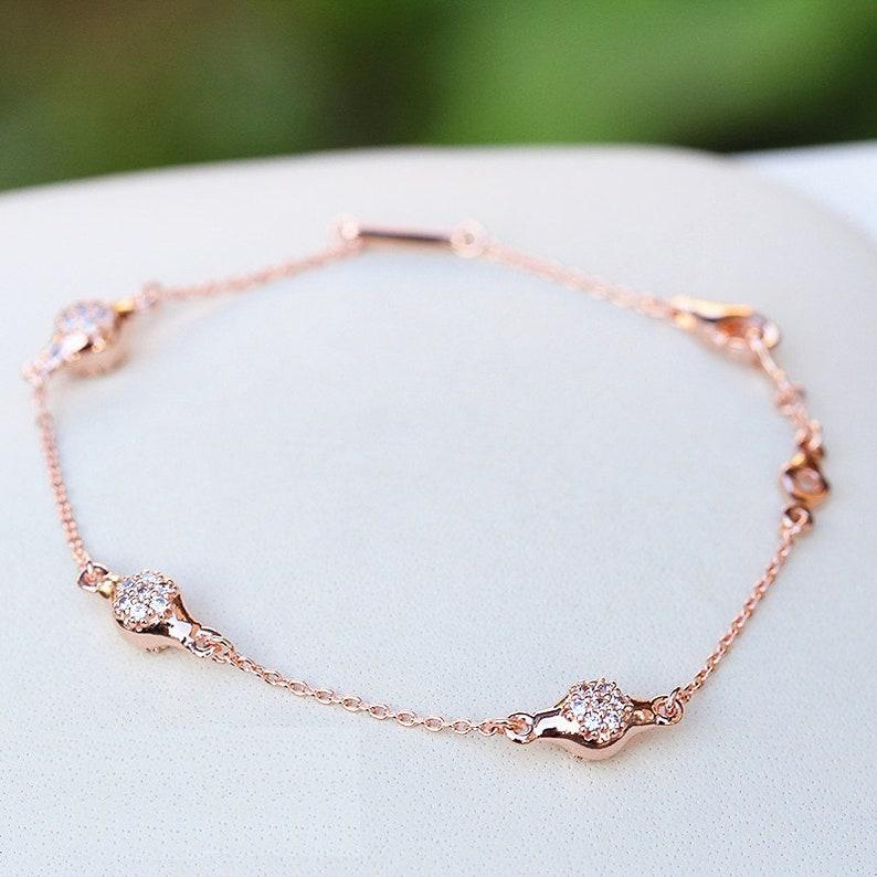 f5fd9e6aa ... pandora silver modern lovepods cz bracelet size · image 0 ...