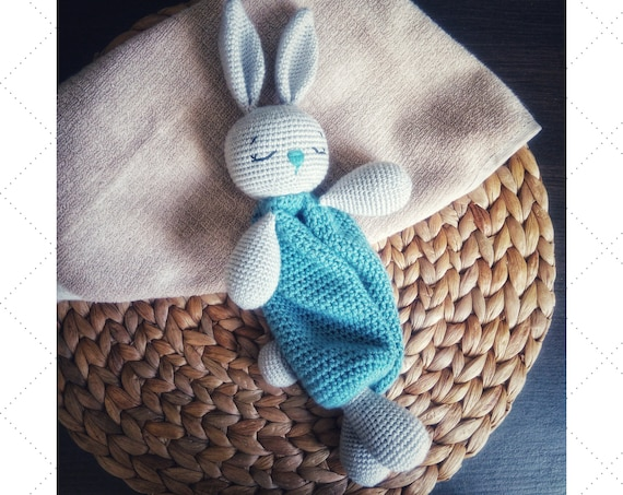 CROCHET PATTERN Bunny plush toy - Amigurumi pattern rabbit ... | 453x570