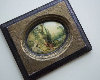 Curved Antique Victorian Frame 1800's