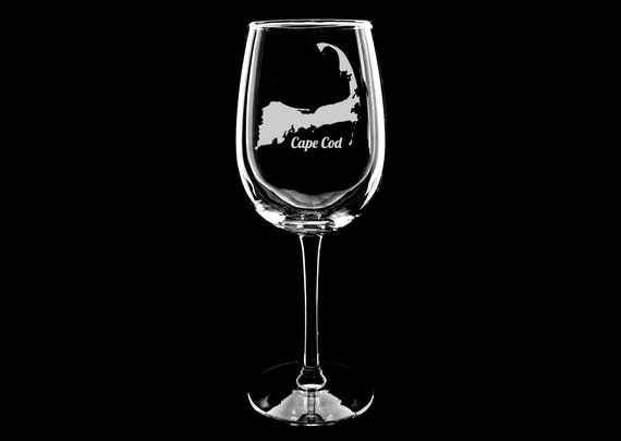New York Subway Map Drinking Glass 16oz.Cape Cod Wine Glass Cape Cod Map Glass Cape Code Gift Souvenir