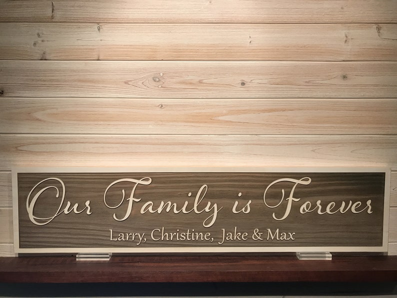 Theres No Place Like Home Wall Plaque Laser Engraved Personalized Custom Sign 163 by SignsByAllSeasons