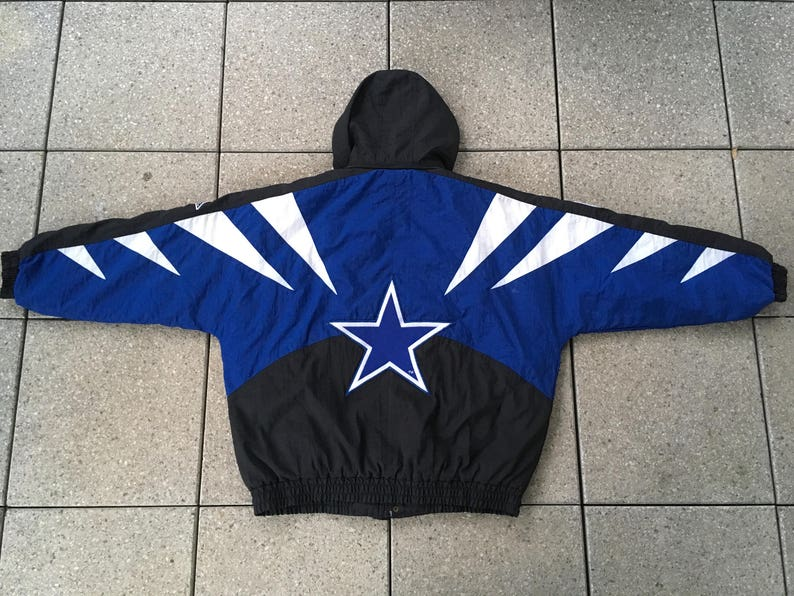 RARE 90s Dallas COWBOYS Jacket by Apex One Vintage NFL  b5ed0e68d