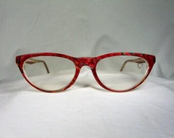 28133a52f75 Sonia Rykiel, eyeglasses, Cat's Eye, oval, frames, women's, hyper vintage