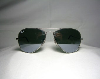 5906cd94b Ray Ban, Aviator, sunglasses, RB 3025, crystal lenses, Ray Ban Italy,  vintage