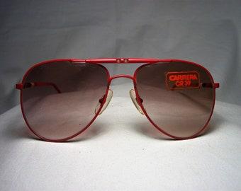 e60b65e14a49d7 Carrera, Sonnenbrille, Aviator, Quadrat, Oval, Frauen, Männer, NOS, hyper  Jahrgang
