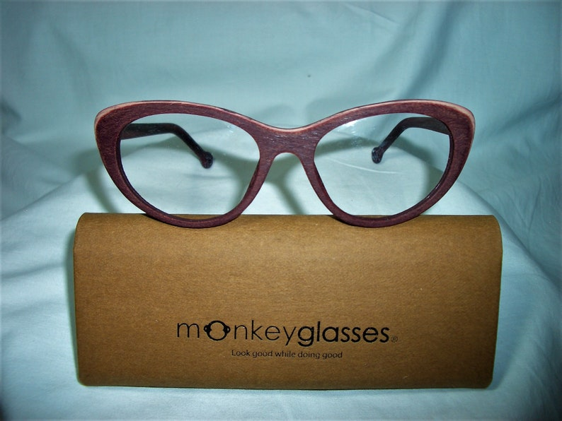 ecd13096a73 NOS Monkeyglasses Denmark cat s eye round oval