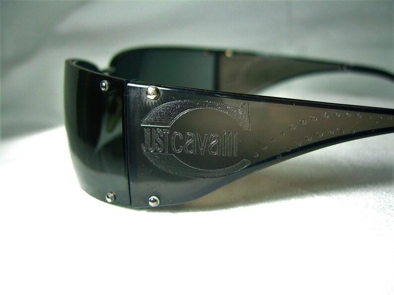 super-vintage wrap around men/'s Just Cavalli square sunglasses women/'s frames