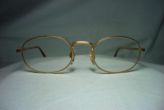 a30cd98bd1d Giorgio Armani eyeglasses round oval gold plated frames