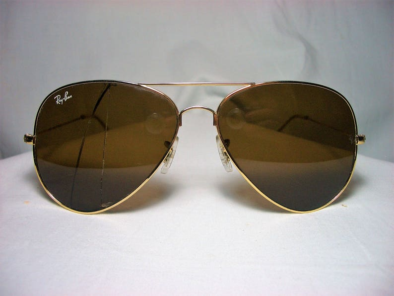 f6fceef832d Ray Ban Aviator sunglasses RB 3026 gold plated crystal