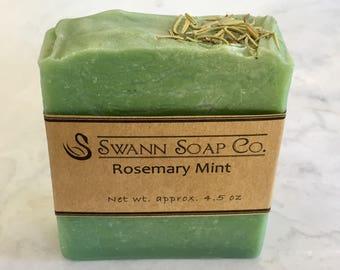 Rosemary Mint Handmade Soap