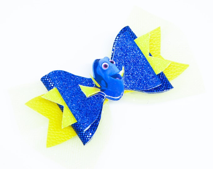 Finding Dori Glitter Hair Bow