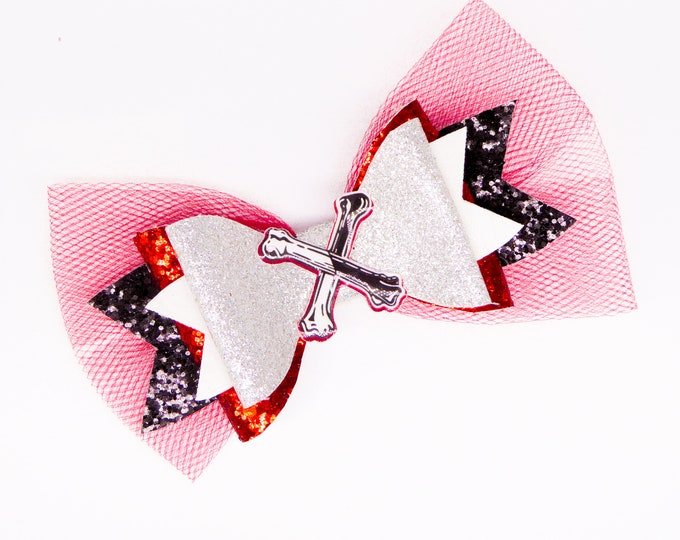Carlos Descendants 3 Glitter Hair Bow