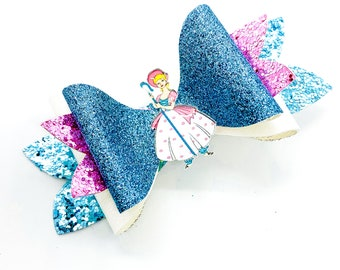 Toy Story Bo Peep Glitter Hair Bow