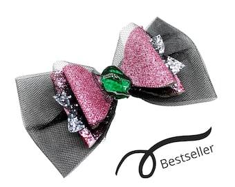 Audrey Descendants 3 Glitter Hair Bow