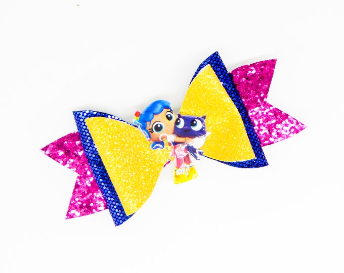 True and Bartelby Magic Kingdom Glitter Hair Bow