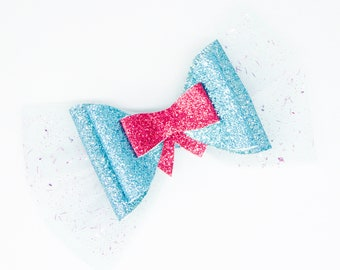 Jane Descendants 3 Glitter Hair Bow