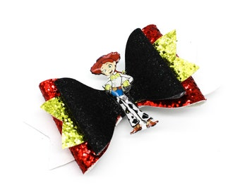 Toy Story Jessie Glitter Hair Bow