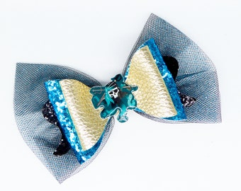 Uma Descendants 3 Glitter Hair Bow