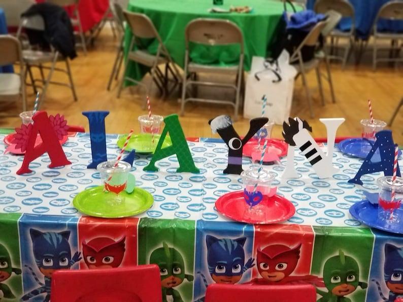 Pj masks wood letters wood letters pj masks party nursery letters pj masks birthday letters pj masks decor pj masks birthday