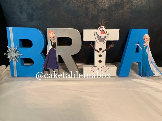 Frozen Letters Frozen Party Frozen Birthday Frozen Decorations Frozen Frozen Theme Frozen Decor Frozen Nursery