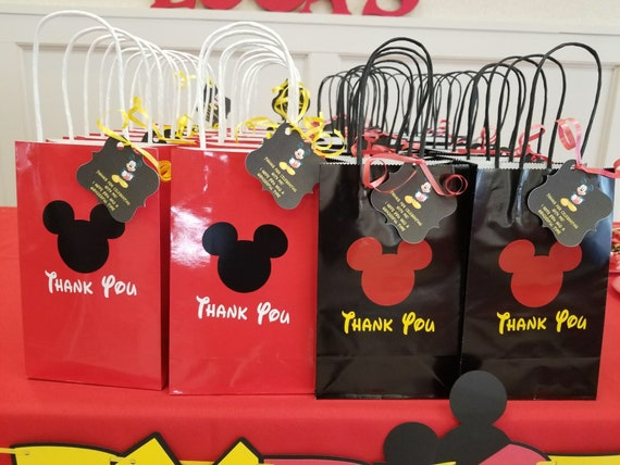 Mickey Mouse Goody Bags Goodie