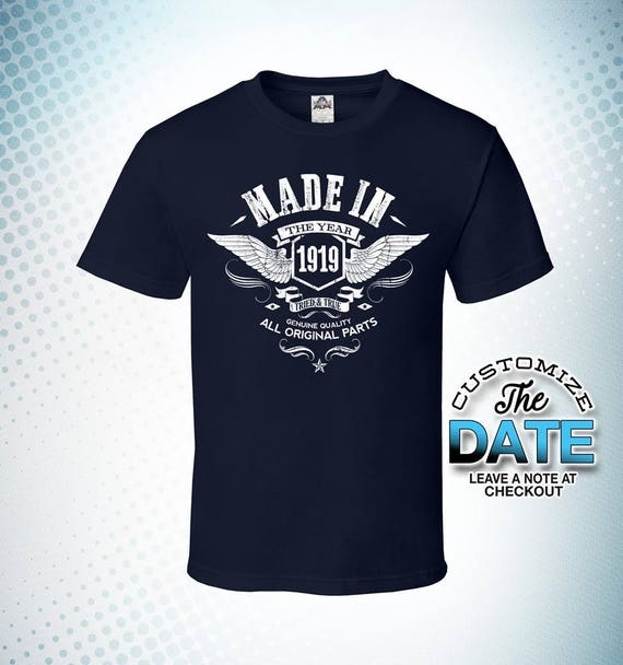 Made In 1919 100th Birthday Gifts For Men