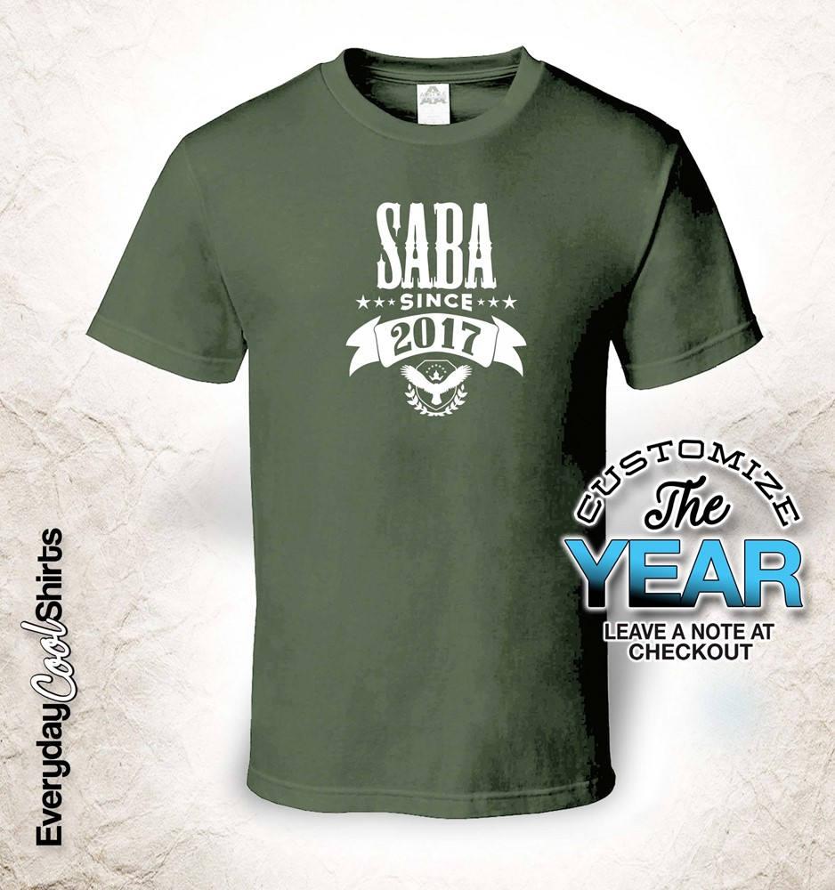 Saba Since (Any Year), Saba Gift, Saba Saba Gift, Birthday, Saba tshirt, Saba Gift Idea, 889aa4